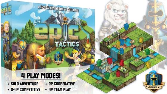 Tiny Epic Tactics - Featuring a 3D Environment