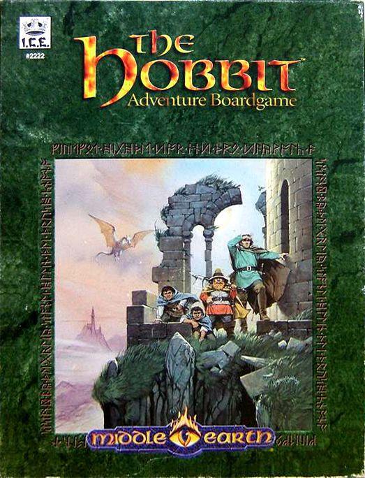 The Hobbit Adventure Boardgame
