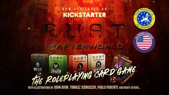 RUST : THE AFTERWORLD - The Roleplaying Card Game