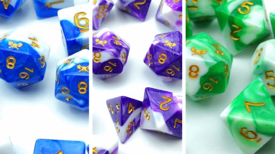 SkullSplitter Dice: Andrar's Tales: The Early Years RPG Dice
