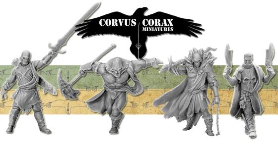 Corvus Corax Miniatures - Clansmen of Caer Loch