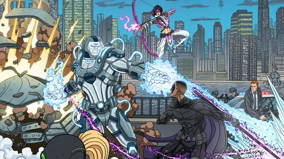 Sidekick Saga: A cooperative game of Heroes and Villains!