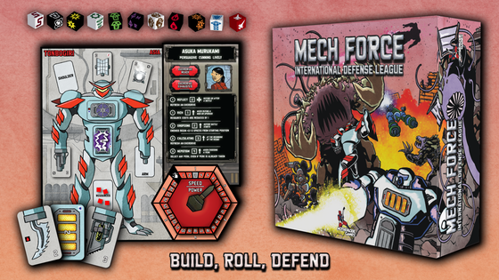 Mech Force: International Defense League
