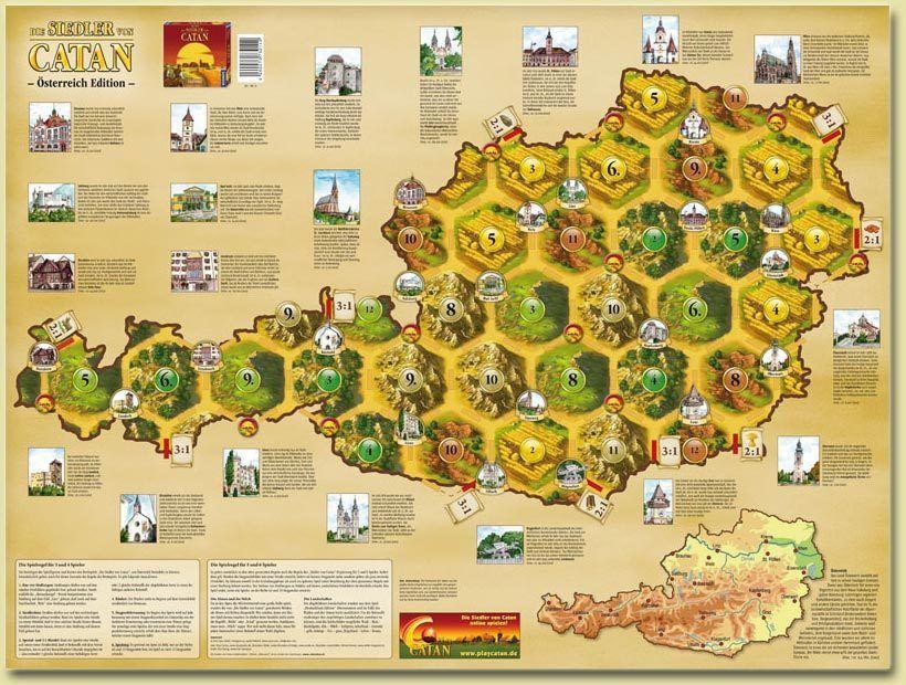 Catan Geographies: Austria