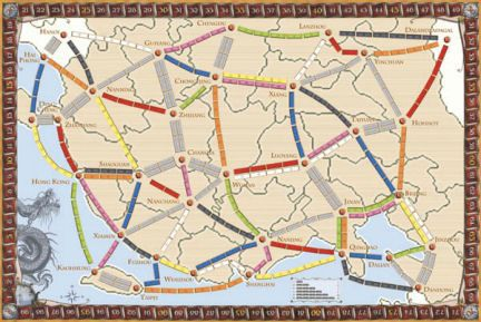 China (fan expansion for Ticket to Ride)