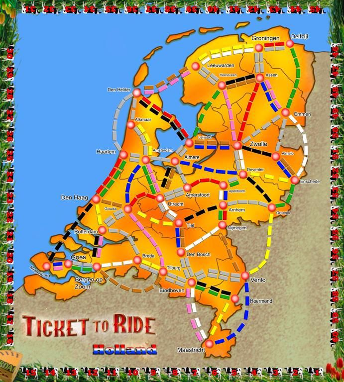 Holland (fan expansion for Ticket to Ride)