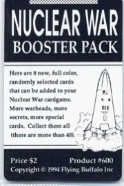 Nuclear War Booster Packs