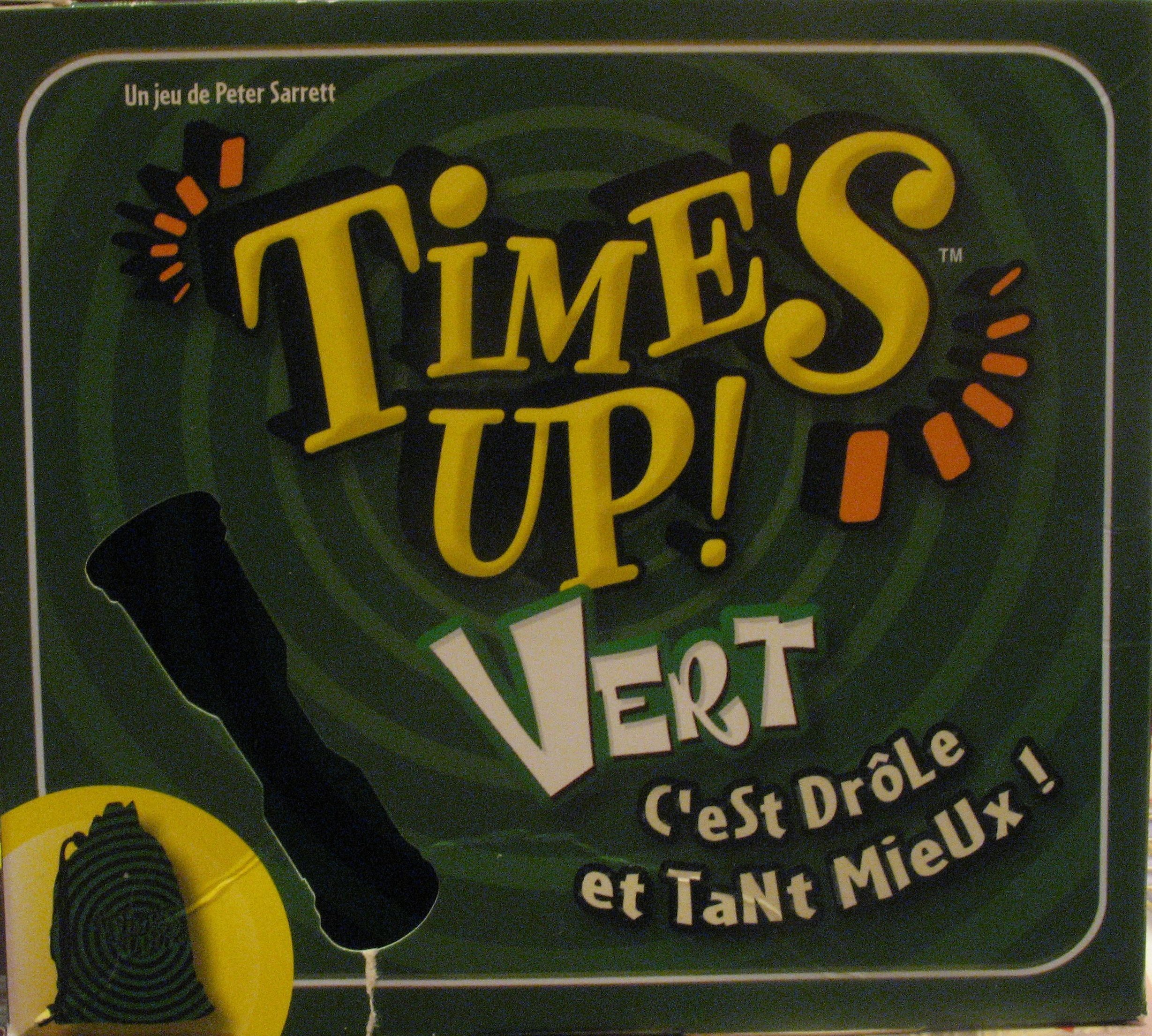 Time's Up! Green Edition