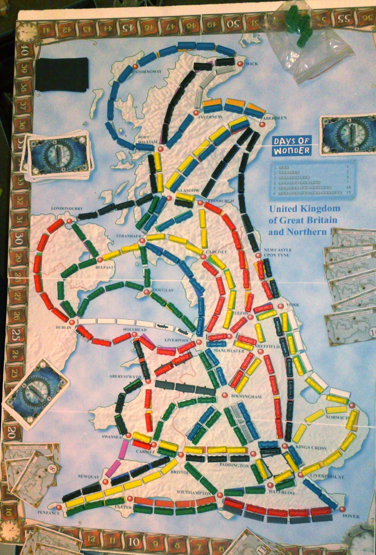 UK (fan expansion to Ticket to Ride)
