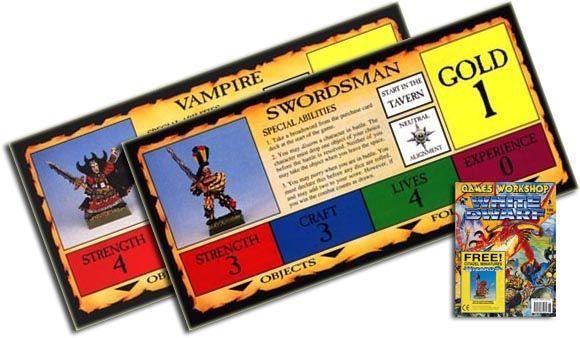 Talisman (third edition): White Dwarf UK #186/US #185 Characters