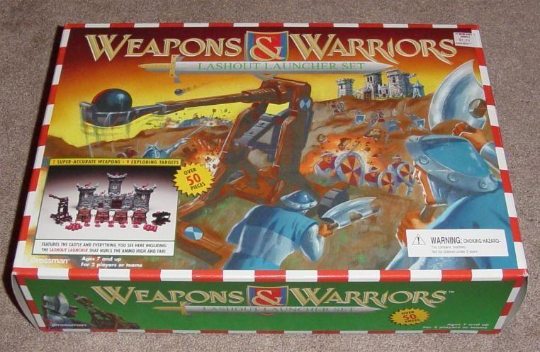 Weapons & Warriors: Lashout Launcher