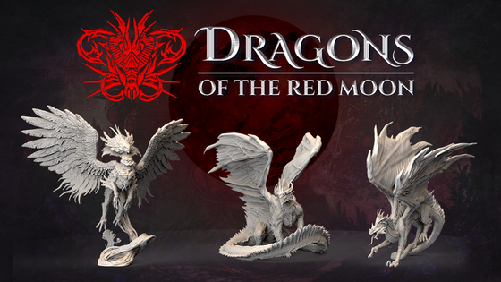Dragons of the Red Moon