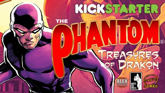 The Phantom: Treasures of Drakon board game