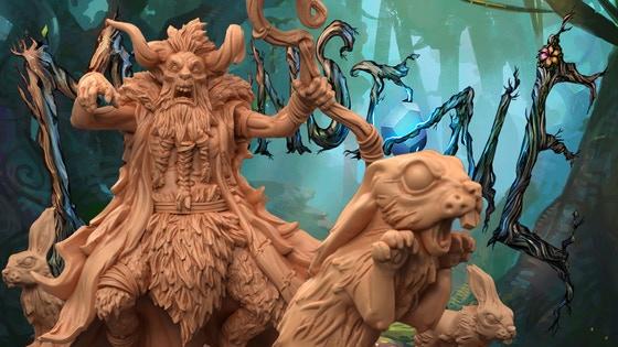 Moonstone Fantasy Skirmish Game - Leshavult Expansion