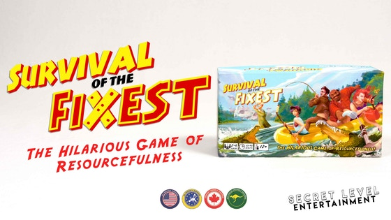 Survival of the Fixest: New Party Game for Friends & Family