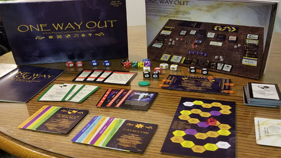 One Way Out: A Collaborative Tabletop Game