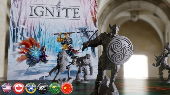 Ignite: Tabletop Miniatures Game