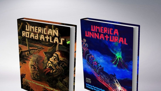 The Umerican Road Atlas and Umerica Unnatural