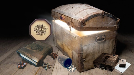 Dungeons and Dragons Mystery Box