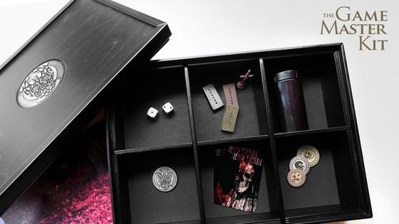 THE GAME MASTER KIT: A Themed & Premium RPG gaming box