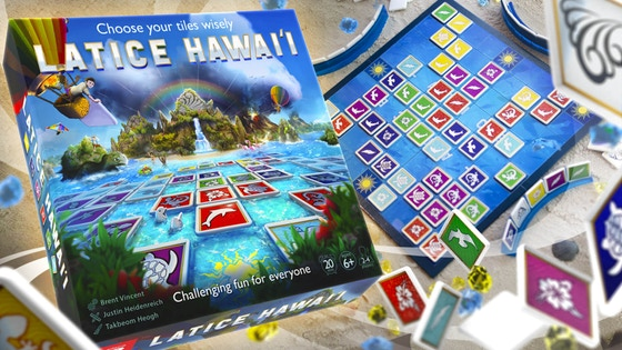 Latice Hawai'i Strategy Board Game