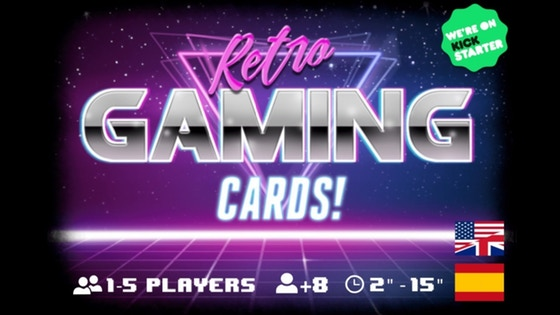 Retro Gaming Cards! - A Game of Loading Screens
