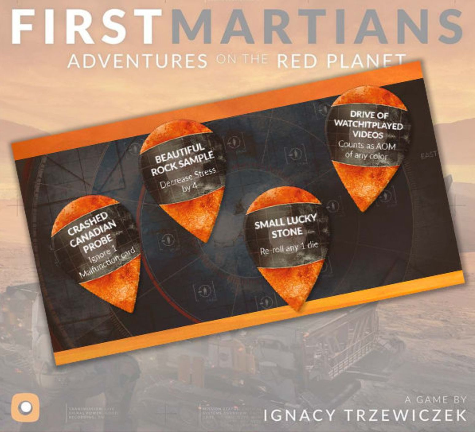 First Martians: Watch It Played Promo Tokens