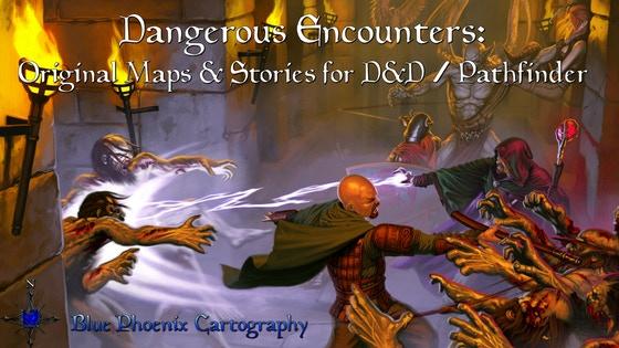 Fantasy RPG encounters & maps for D&D/Pathfinder (I)