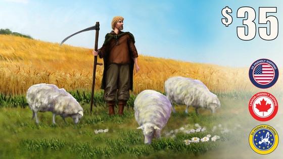 Builders of Blankenburg: Fields & Flocks expansion