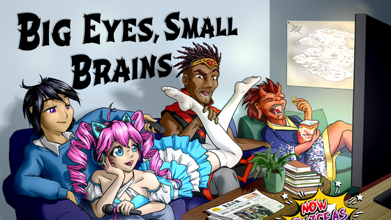 Big Eyes Small Brains Anime Pocket RPG