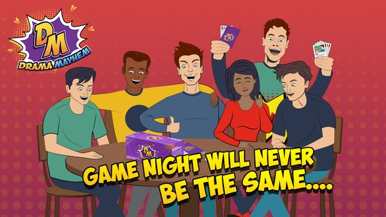 Drama Mayhem | Game Night Will Never Be The Same.