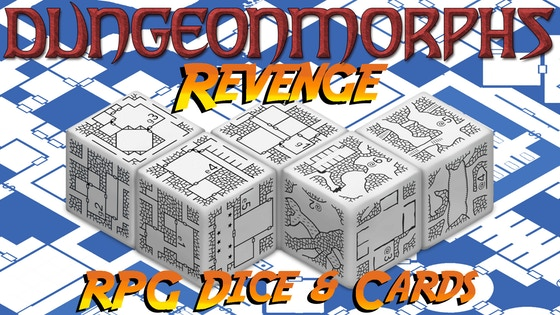 DungeonMorphs Revenge - RPG Dungeon Dice & Cards