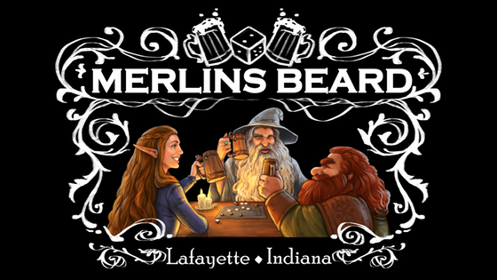Merlin's Beard Board Game Pub