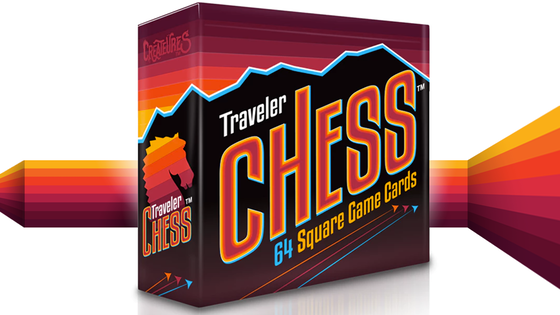 Traveler Chess 64 Pocket-Sized Game Cards