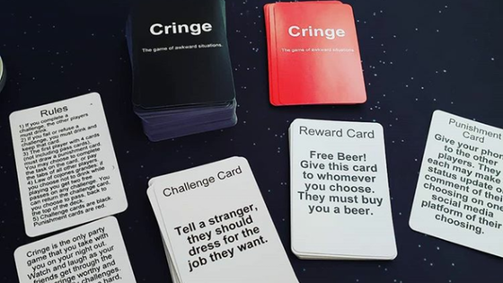 Cringe the Game of Awkward Situations