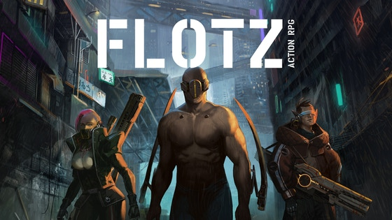 FLOTZ: Evolve your way to play