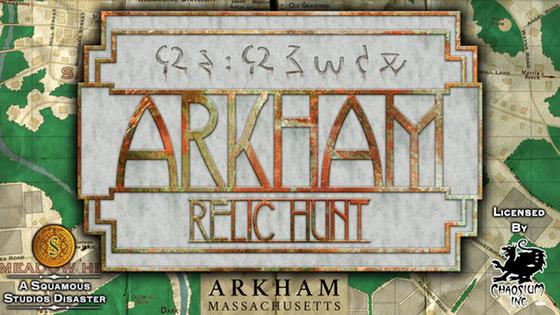 Arkham Relic Hunt
