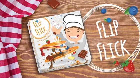 FLIPFLICK - a Yummy Family Board Game about Pancakes.