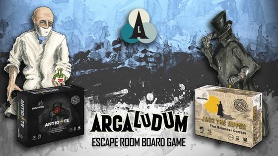 Arca Ludum: Escape Room Board Game