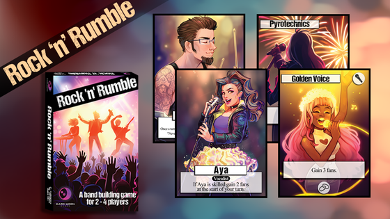 Rock 'n' Rumble | Board Game Atlas
