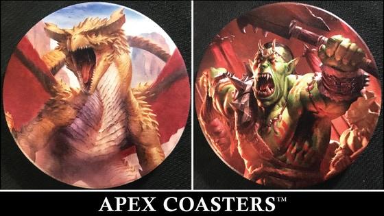 Apex Coasters: Fantasy/RPG Series