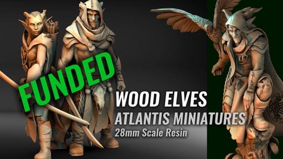 Atlantis Miniatures: 28mm Wood Elves