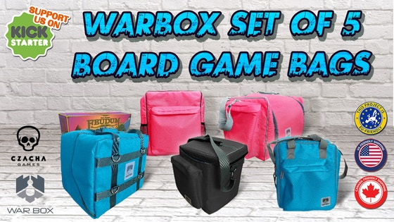 Warbox Board Game Bags
