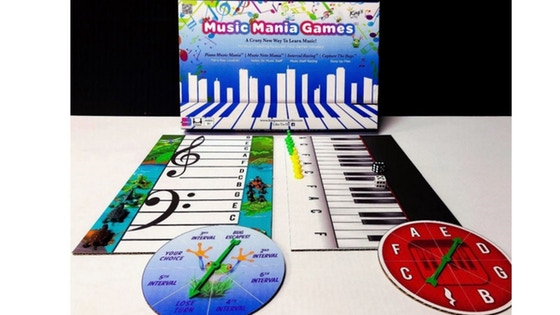 Music Mania Games, 4 games, 4 music levels in 1 set