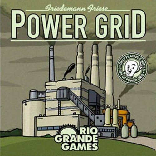 Power Grid: The New Power Plant Cards Expansion