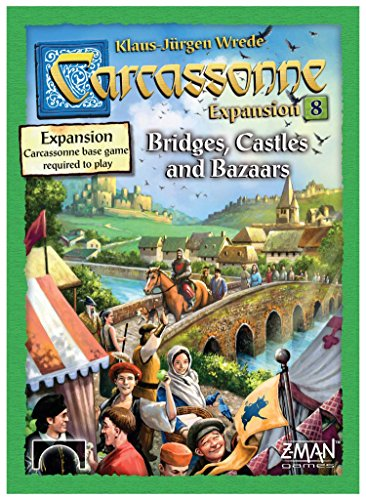 Carcassonne Expansion 8: Bridges, Castles and Bazaars
