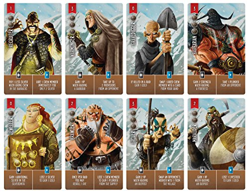 Raiders of the North Shore Worker Placement Board Game
