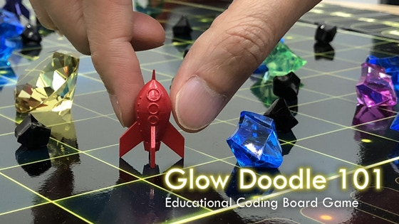 Glow Doodle 101 - Educational Coding Board Game (Relaunch)