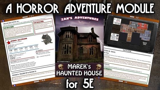 Marek's Haunted House (5E D&D)
