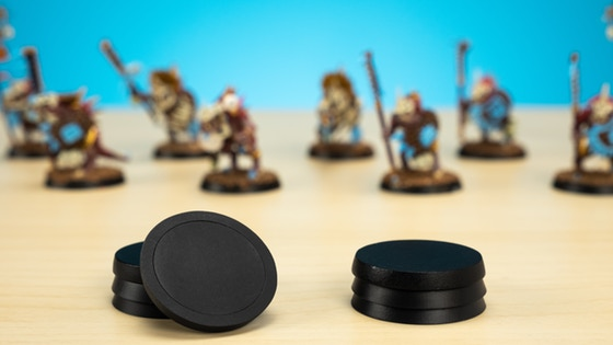 Pre-installed Magnet Tabletop Gaming Bases